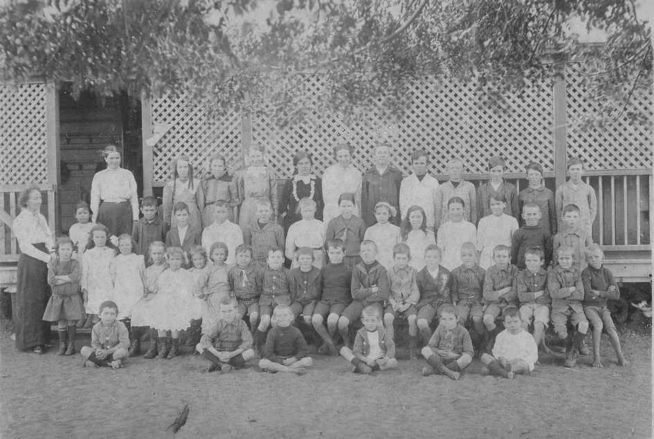 Pentland School in 1918